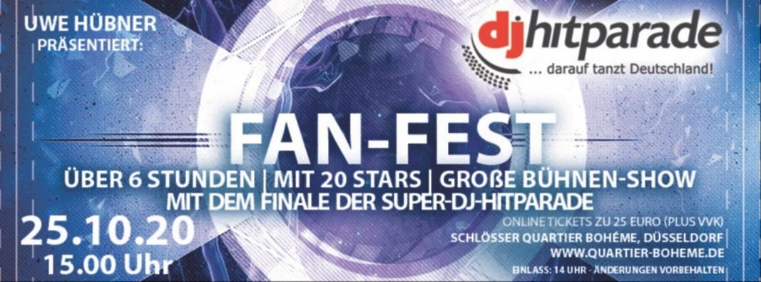 Fan-Fest der dj-hitparade präsentiert von Uwe Hübner