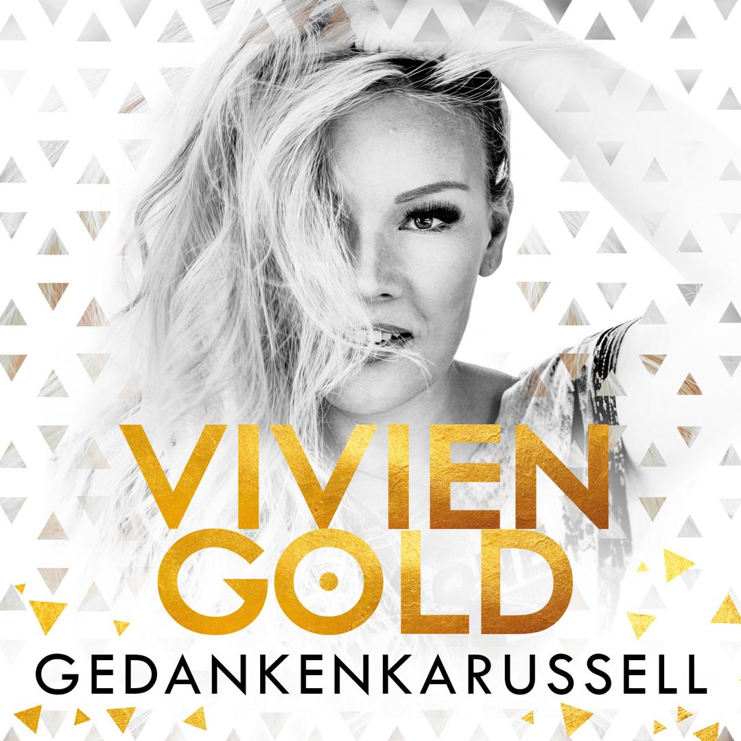 "Album Cover | VIVIEN GOLD ""Gedankenkarussell"""