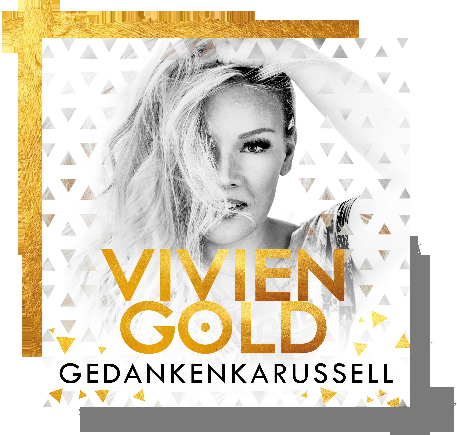 Schlagersängerin Vivien Gold - Album Gedankenkarussell Cover